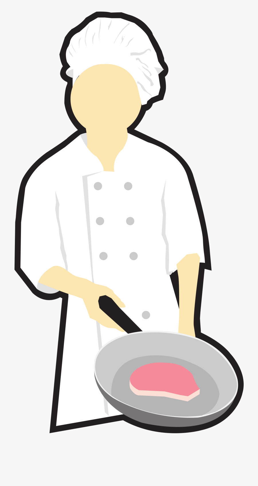Clip Art Chef Cooking Clipart - Cooking Chef Clip Art, Transparent Clipart