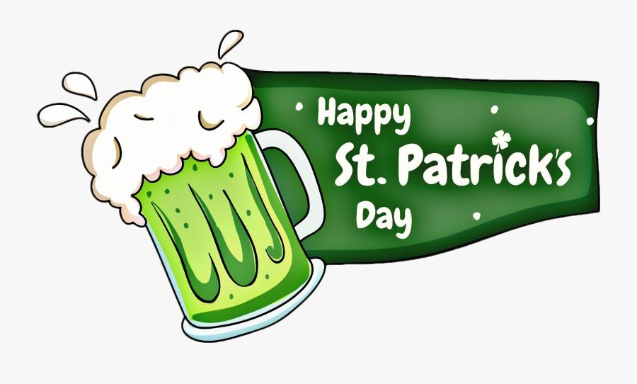 Free Happy St - Saint Patrick Day Png, Transparent Clipart
