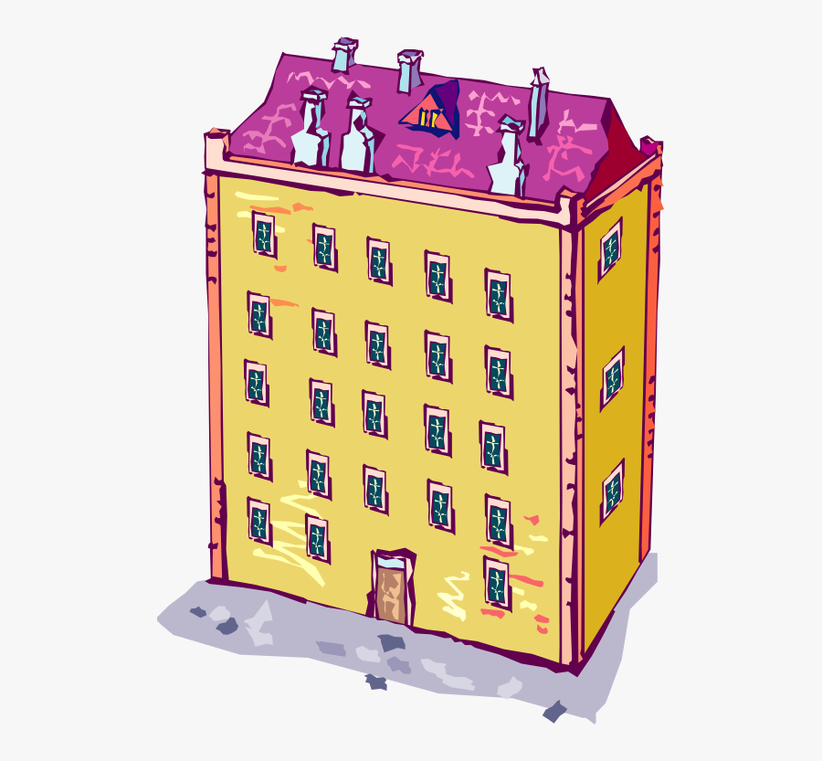 School Building Clipart Free Free Clipart Images 2 - Apartment Of Building Clipart Png, Transparent Clipart
