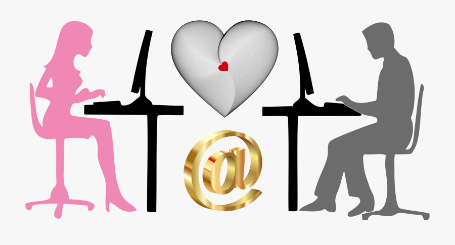 Transparent Love Clipart Png - Impact Of Technology On Relationship, Transparent Clipart