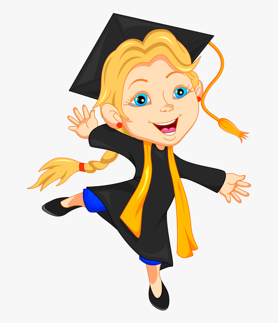 Education Clipart Educated Person - Happy Graduation Girl Clipart, Transparent Clipart