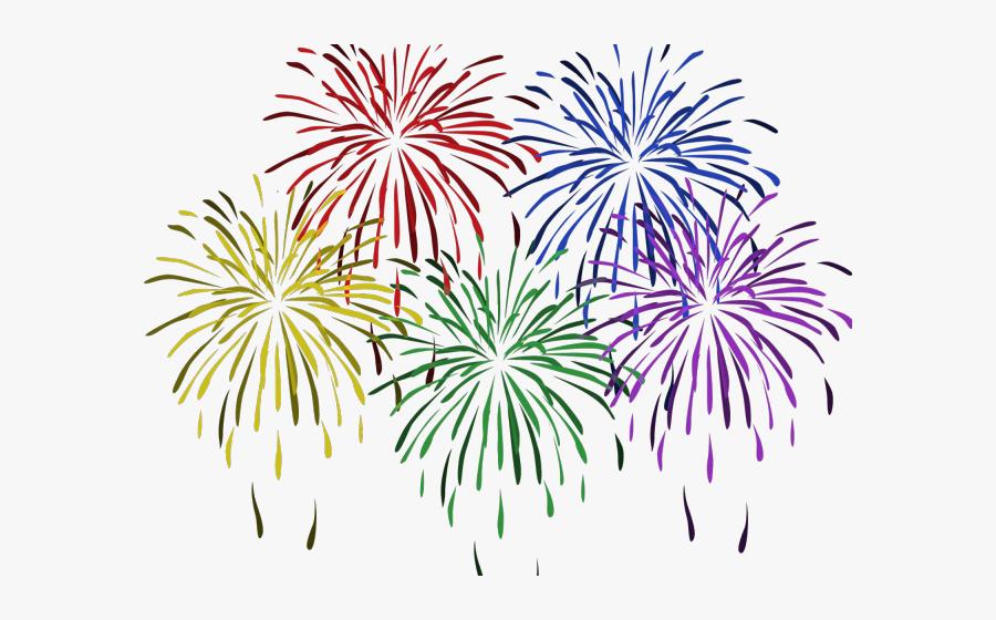 Huge Freebie Download - Transparent Background Fireworks Clipart, Transparent Clipart