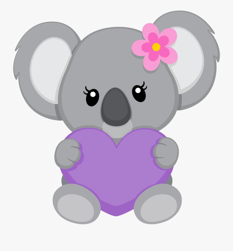 Thanksgiving Animals Clipart - Koala Bear Drawing, Transparent Clipart