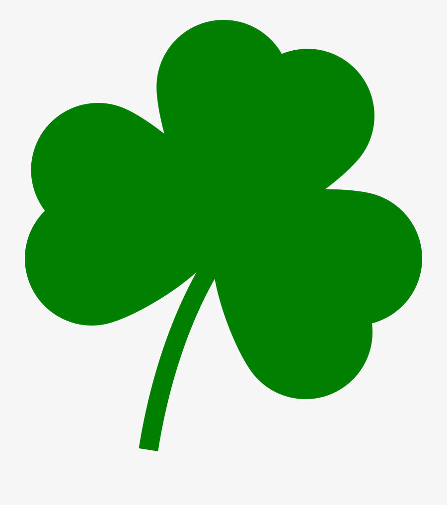 "St Patrick""s Day Clover Patrick Free Picture - St Patricks Day Clover, Transparent Clipart"