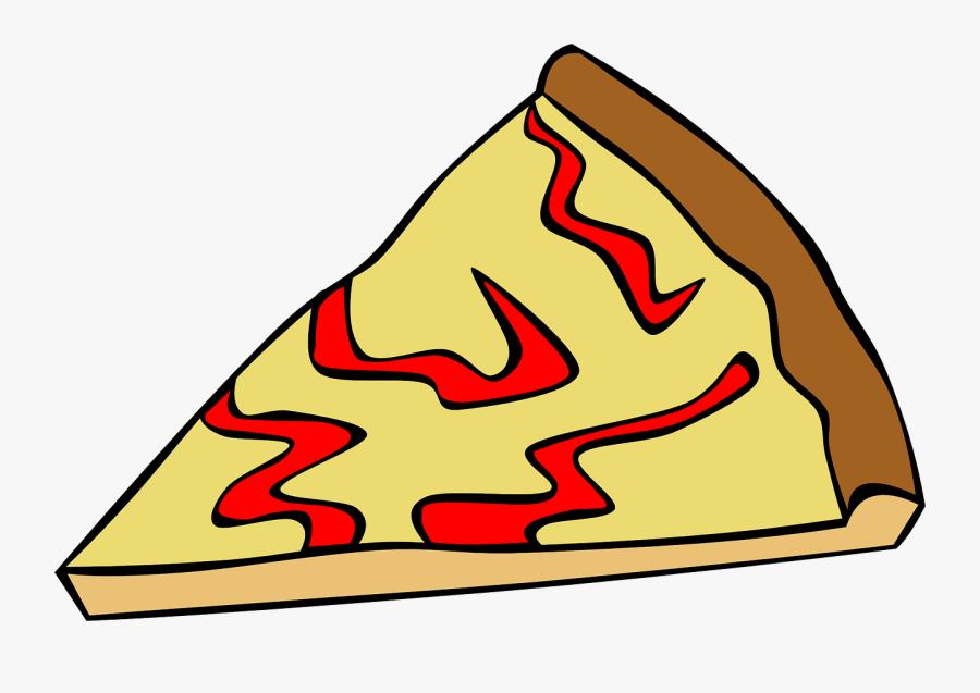 Thumb Image - Cheese Pizza Slice Cartoon, Transparent Clipart