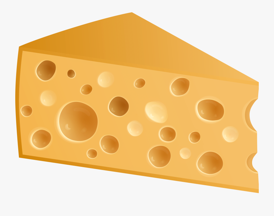 Swiss Cheese Png Clip Art - Gruyère Cheese, Transparent Clipart
