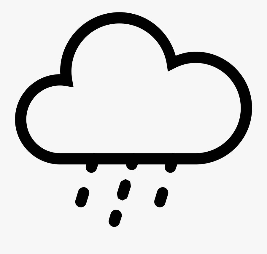Fog Clipart Breeze - Light Rain Icon, Transparent Clipart