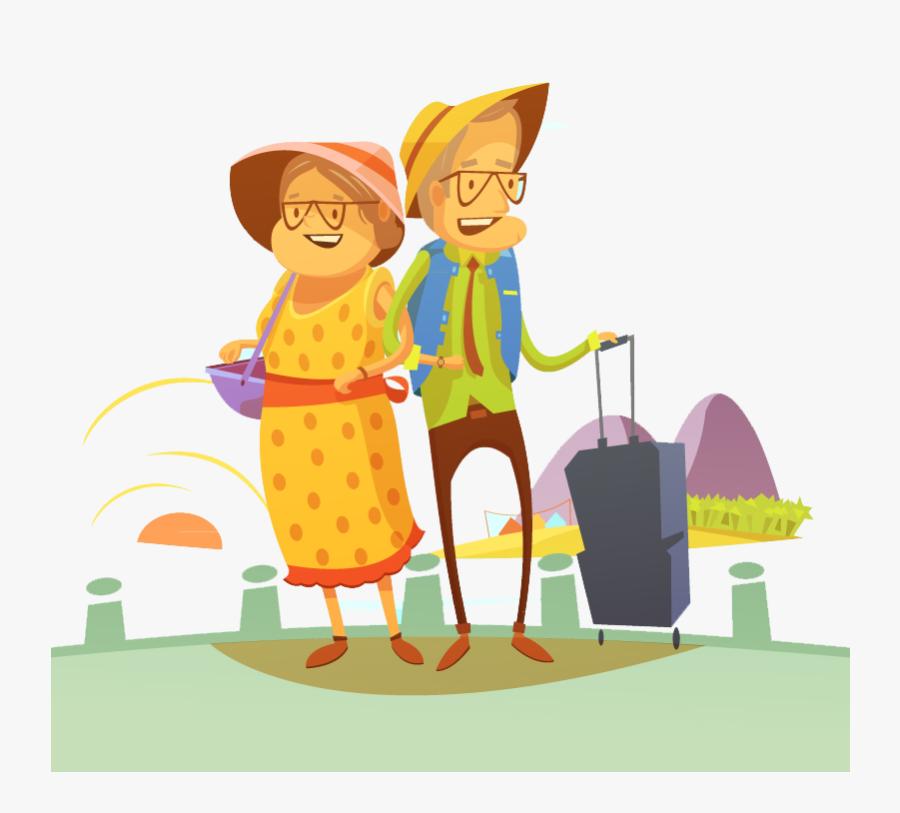 Transparent Travel Clipart Png - Traveling Illustration, Transparent Clipart