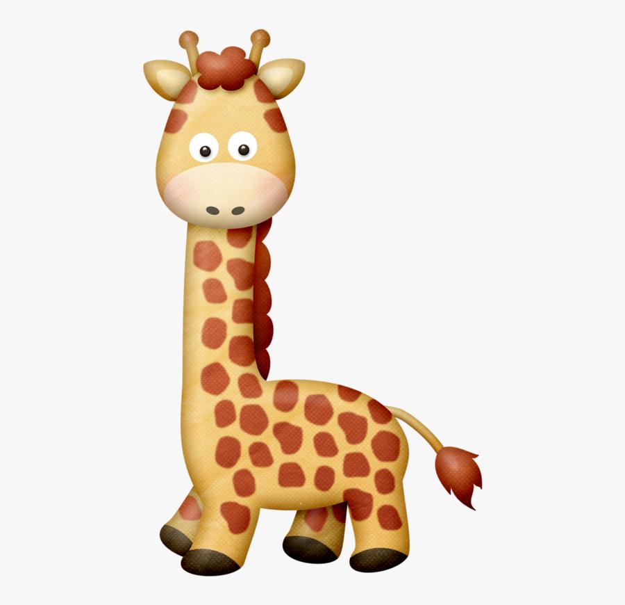 Lliella Safariadv Giraffe Giraffe, Clip Art And Album - Clipart Pictures Of Wild Animals, Transparent Clipart