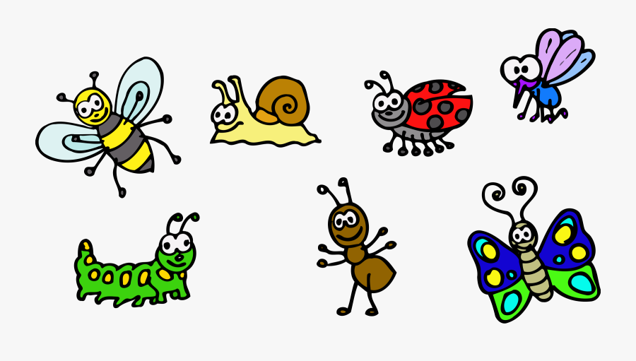 Small Animals Clipart - Animals In The Garden Clipart, Transparent Clipart