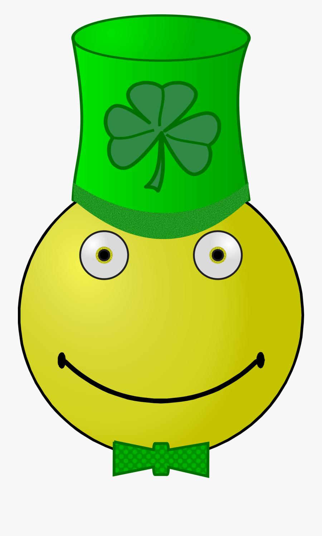 "Patrick""s Day Smiley Clip Arts - Saint Patrick's Day, Transparent Clipart"