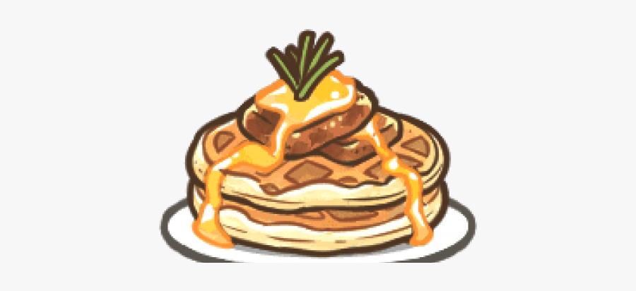 Waffle Clipart Chef - Pannekoek, Transparent Clipart