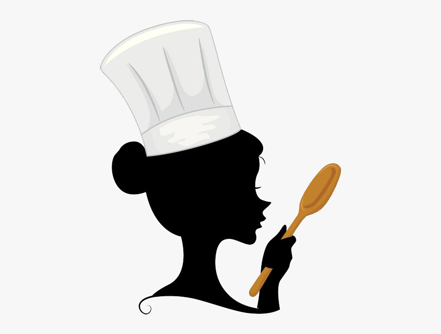 Banner Stock Chef Cooking Clip Art - Woman Chef Logo Design Png, Transparent Clipart