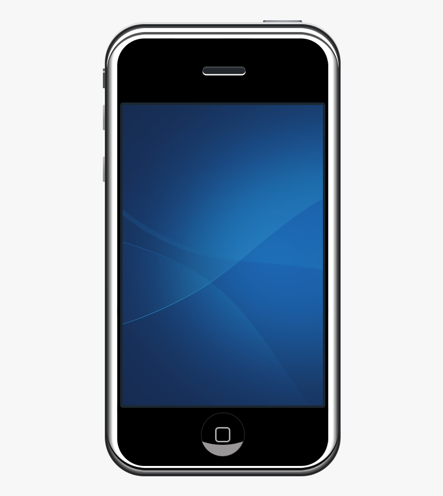 Iphone Apple Clipart Web Icons Png - Mobile Apple Png, Transparent Clipart