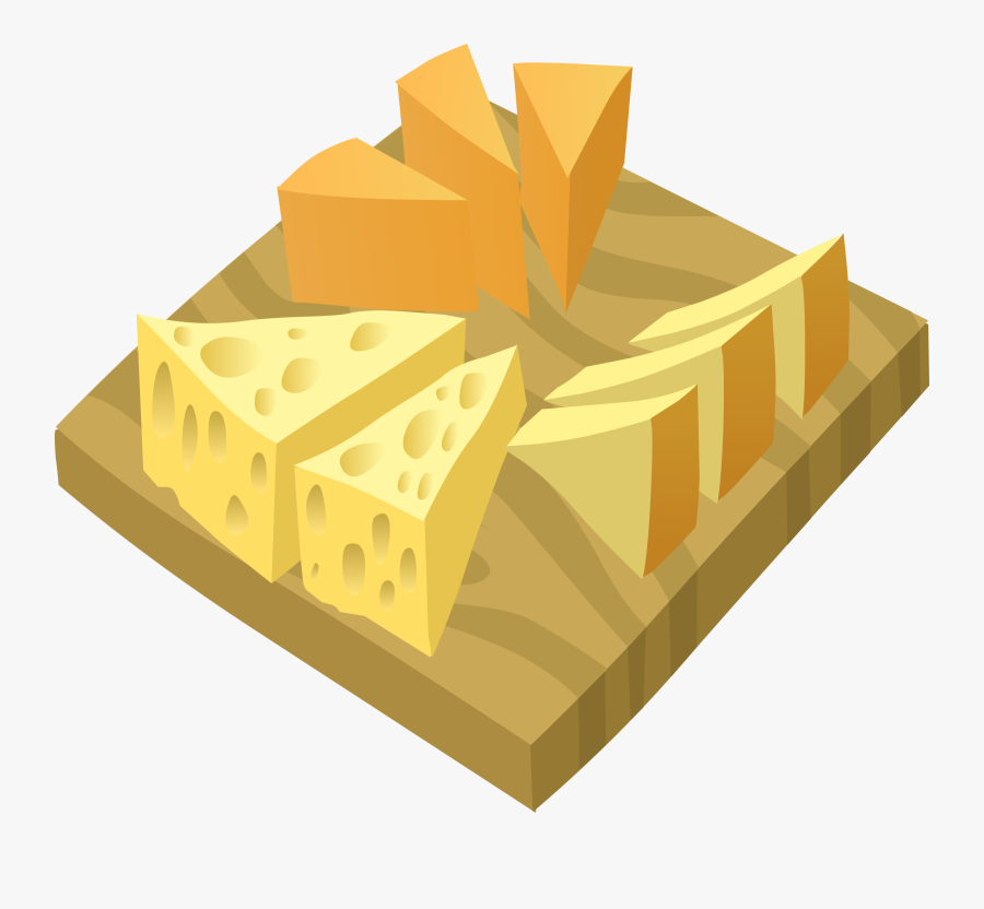 Material,angle,cheese - Cheese Plate Clipart, Transparent Clipart