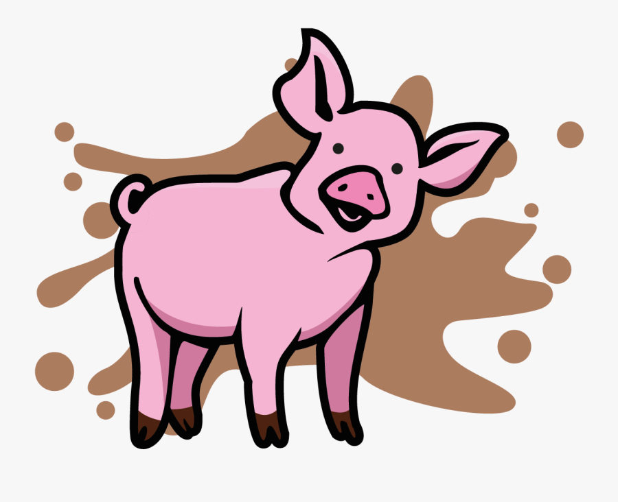 Cartoon Colouring In Farm Animals Clipart , Png Download - Strange Animals Cartoon Black And White, Transparent Clipart