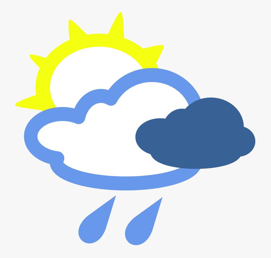 Weather Clipart - Weather Symbols, Transparent Clipart