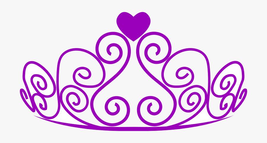 Crown Queen Tiara Princess Clipart Free Images At Clker - Transparent Background Princess Crown Png, Transparent Clipart