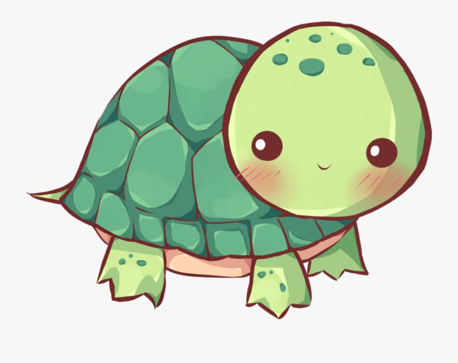 Sad Clipart Sea Turtle Kawaii Turtle Drawing Free Transparent