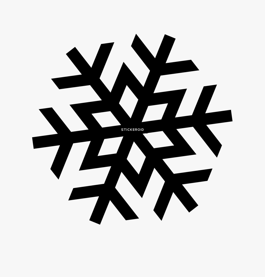 Snowflake Clipart High Resolution - Transparent Background White Snowflake Png, Transparent Clipart