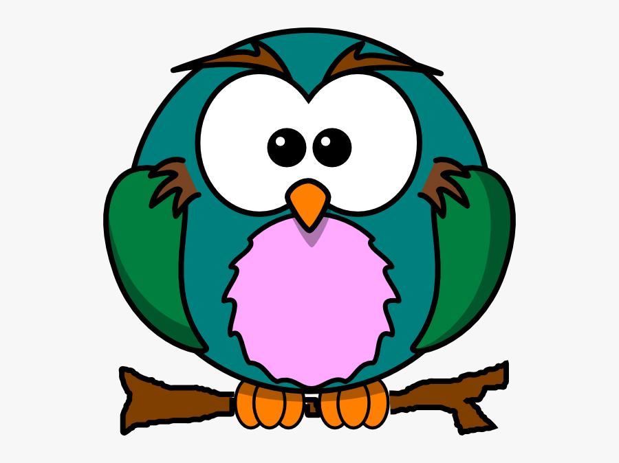 Cute Owl Cartoon Clip Art Car Memes - Cute Cartoon Animals Clipart, Transparent Clipart