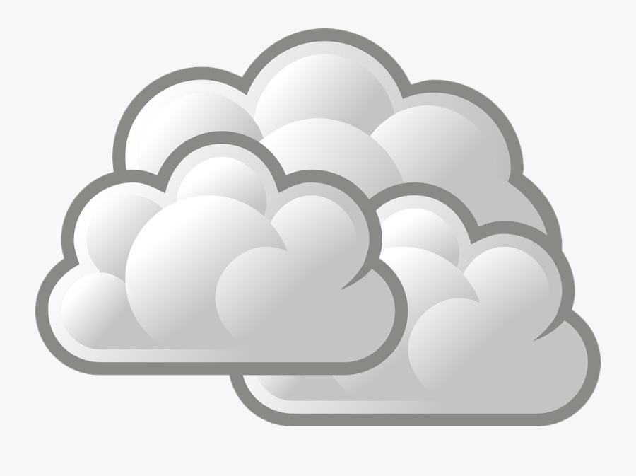 Thumb Image - Cartoon Weather Cloudy, Transparent Clipart
