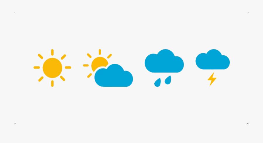 Transparent Weather Cliparts - Transparent Background Weather Clipart, Transparent Clipart