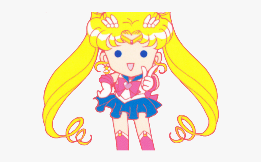 Sailor Moon Chibi Png, Transparent Clipart