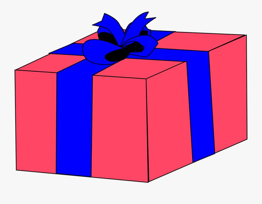 Transparent Christmas Gifts Clipart - Gift Box Clip Art, Transparent Clipart