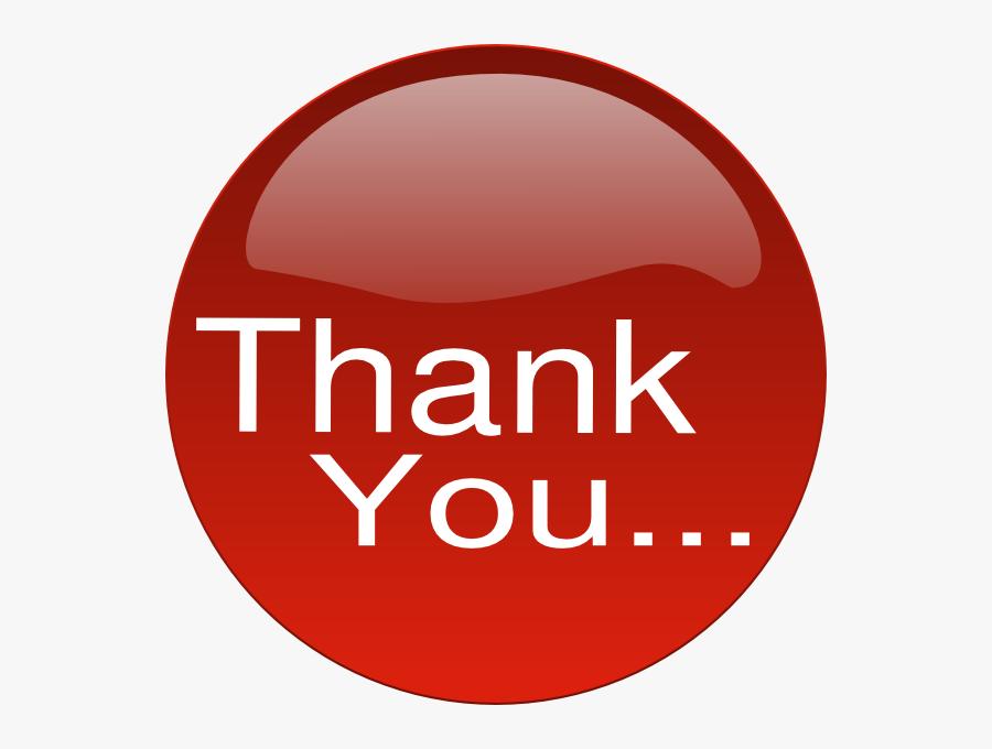 Thank You Clip Art At Clker Com Vector Clip Art Online - Clip Art Of Thank You, Transparent Clipart
