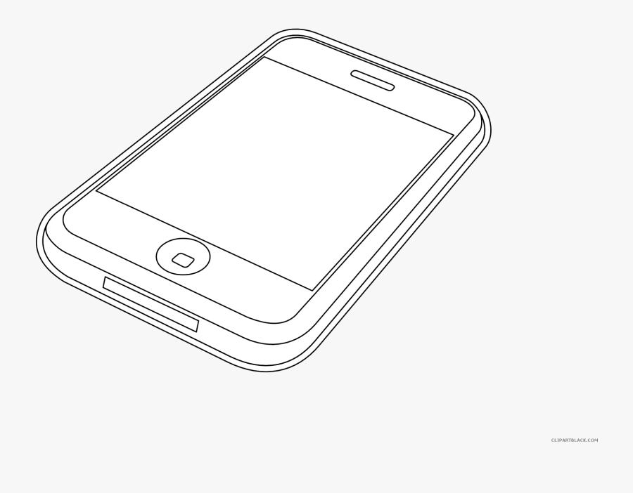 Transparent Iphone Clipart Png - Smartphone, Transparent Clipart