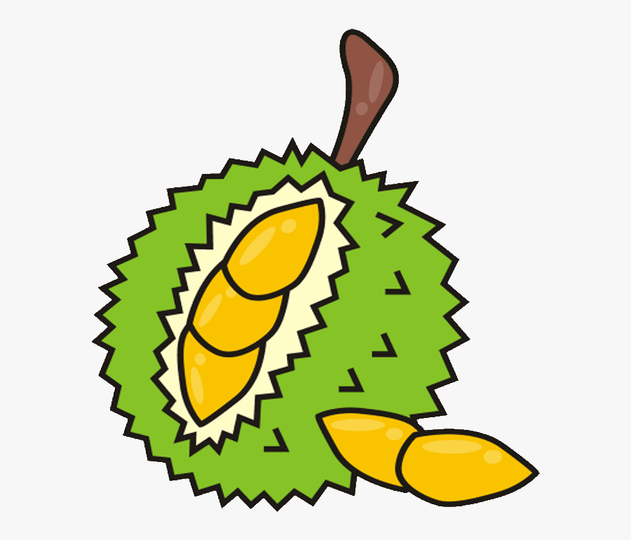 10 Durian Fruit Royalty Free Clipart - Durian Clipart Png, Transparent Clipart
