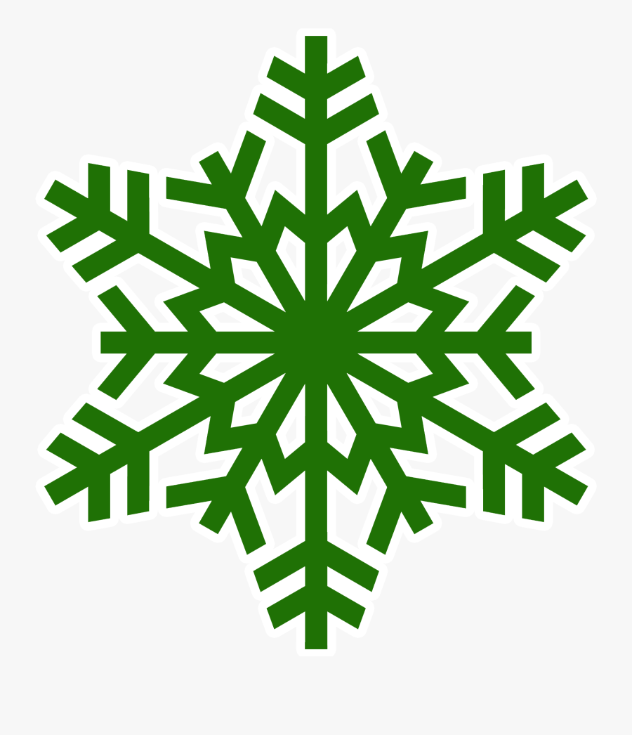 Transparent Background Snowflake Silhouette Clipart - Transparent Snowflake Png, Transparent Clipart