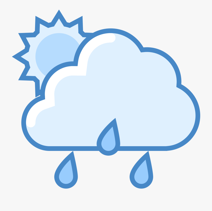 Weather Cold Weather But Partly Cloudy Icons Clipart, Transparent Clipart