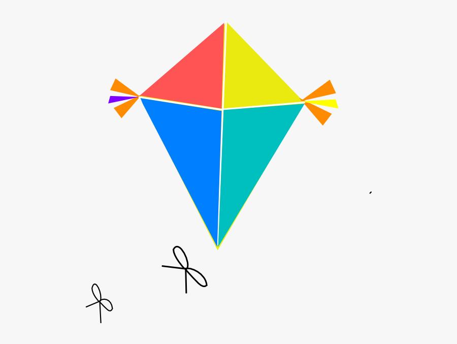 Free Clipart Kite - Paper Kites Png, Transparent Clipart