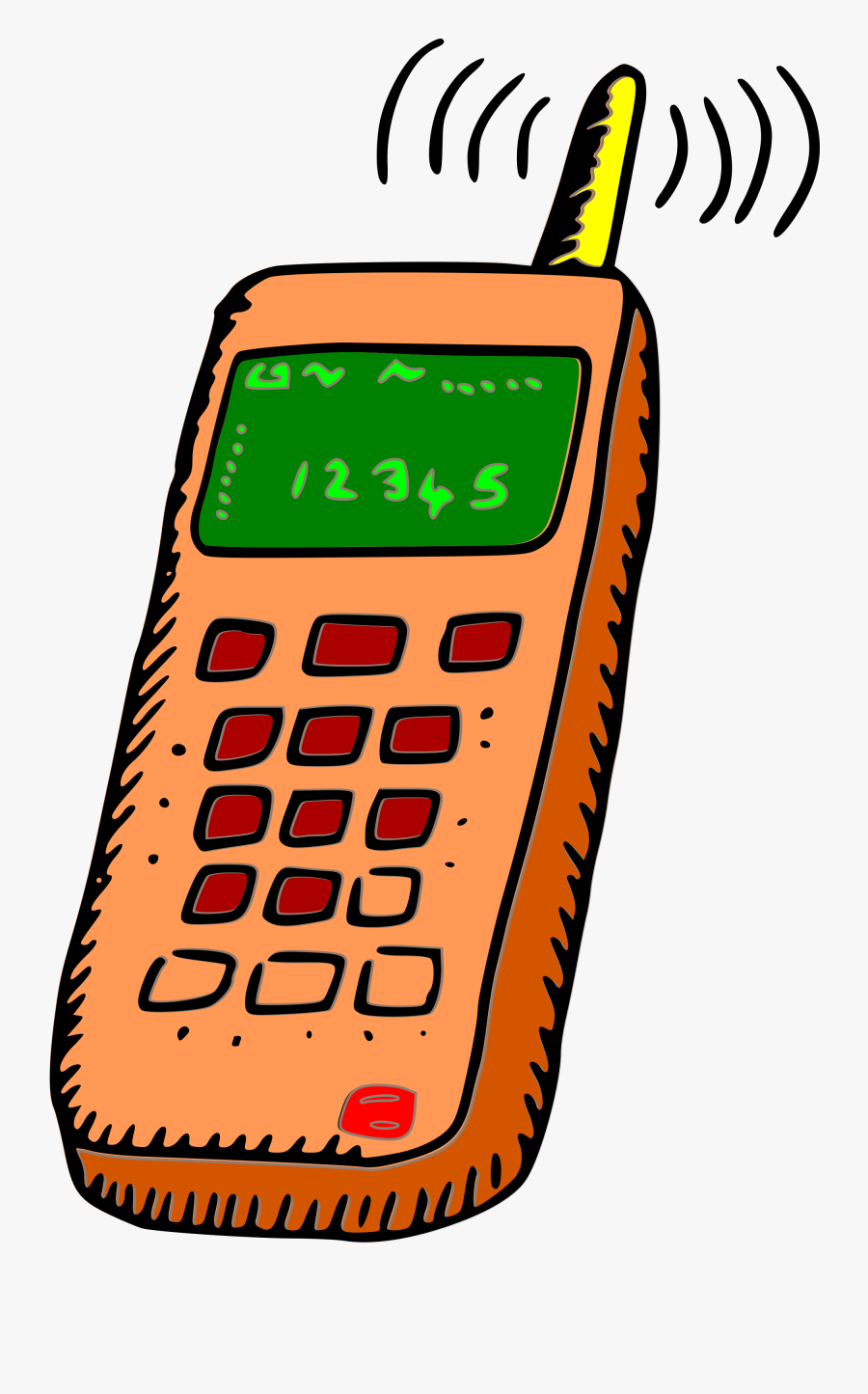 Phone Clipart Royalty Free - Cellphone Clipart, Transparent Clipart
