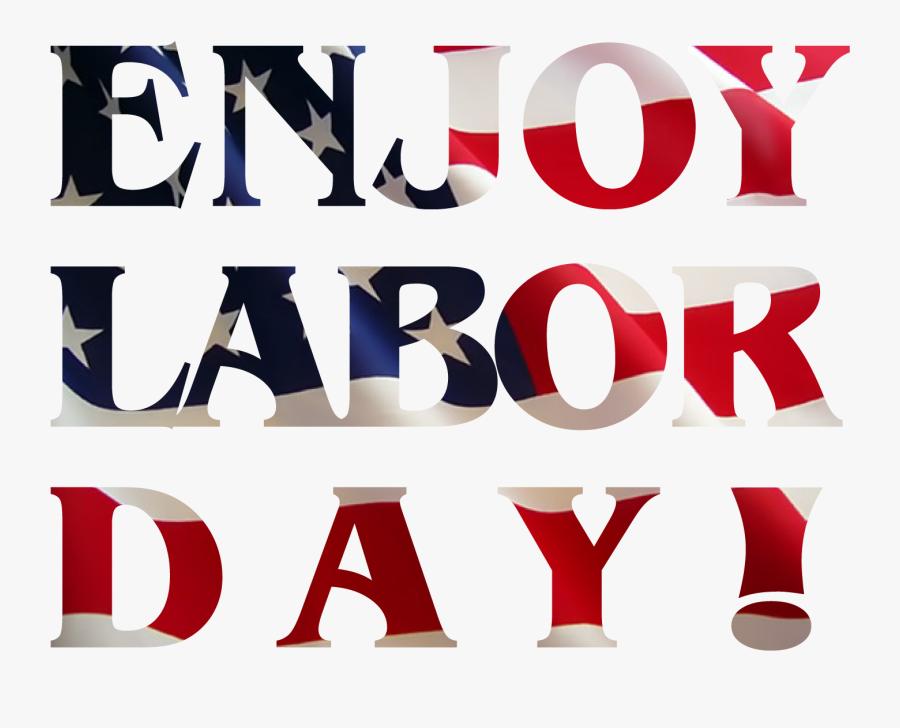 Clip Art Picture Black And - Transparent Happy Labor Day, Transparent Clipart