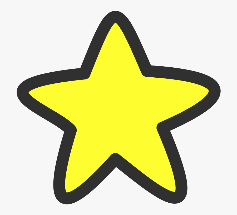 Star Clipart Royalty Free - Star Clipart Black And White, Transparent Clipart
