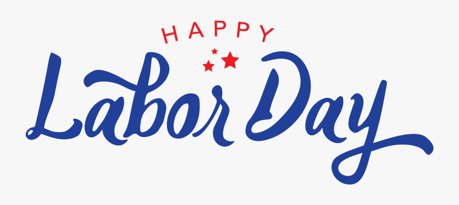 Clip Art Discovery Isle Happylaborday - Happy Labor Day 2019, Transparent Clipart