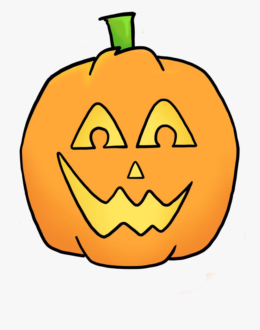 Lantern Clipart Halloween - Jack-o'-lantern, Transparent Clipart