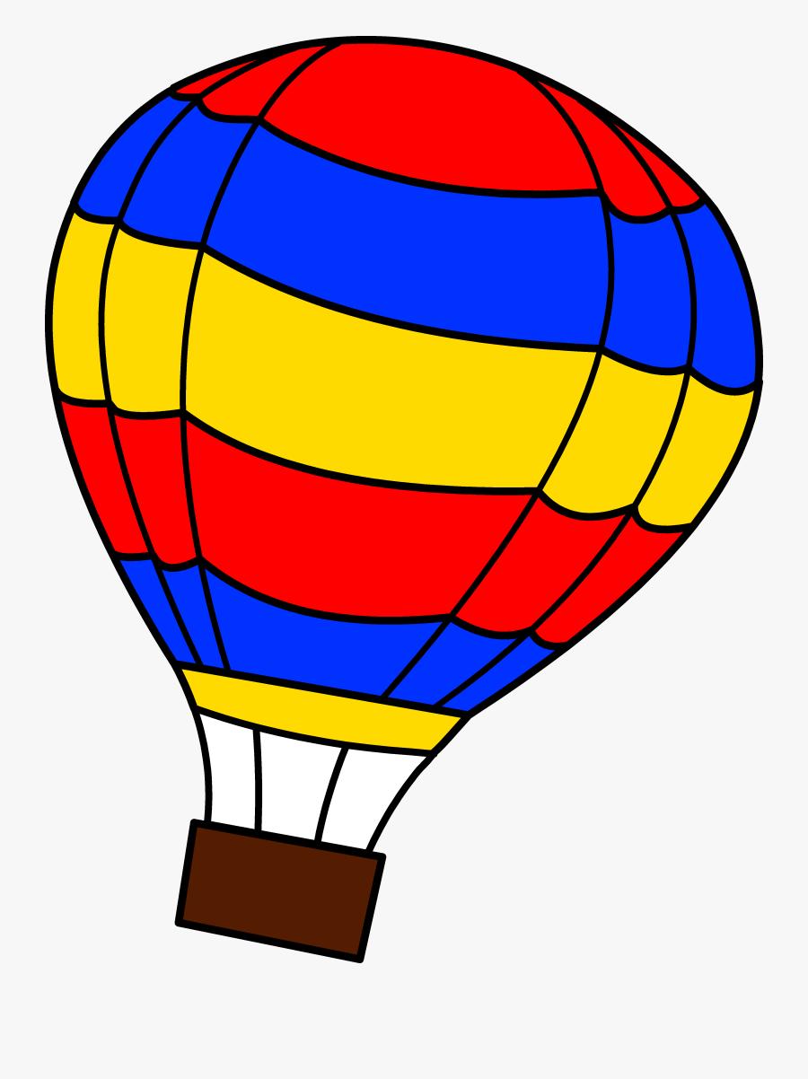 Transparent Saturn Clipart - Hot Air Balloon Clipart, Transparent Clipart