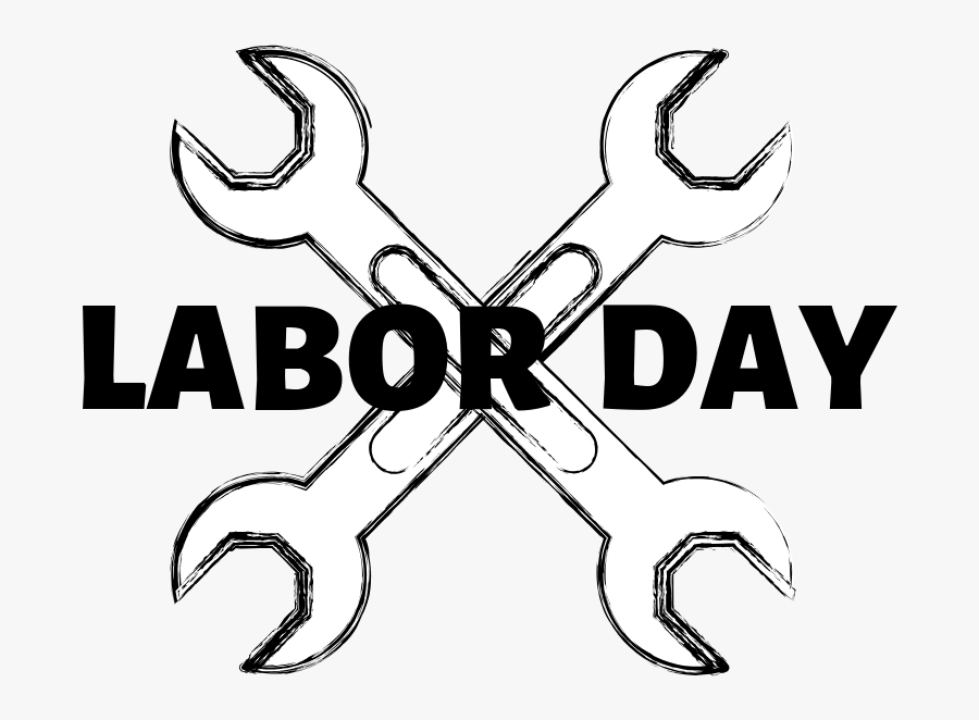 Happy Labor Day 2019, Transparent Clipart