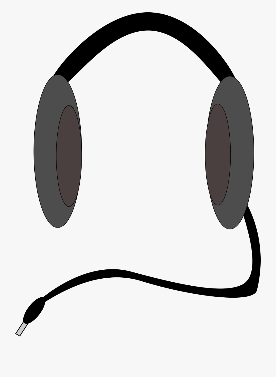 Headphone Clipart Cord Clip Art - Headphones Clip Art, Transparent Clipart