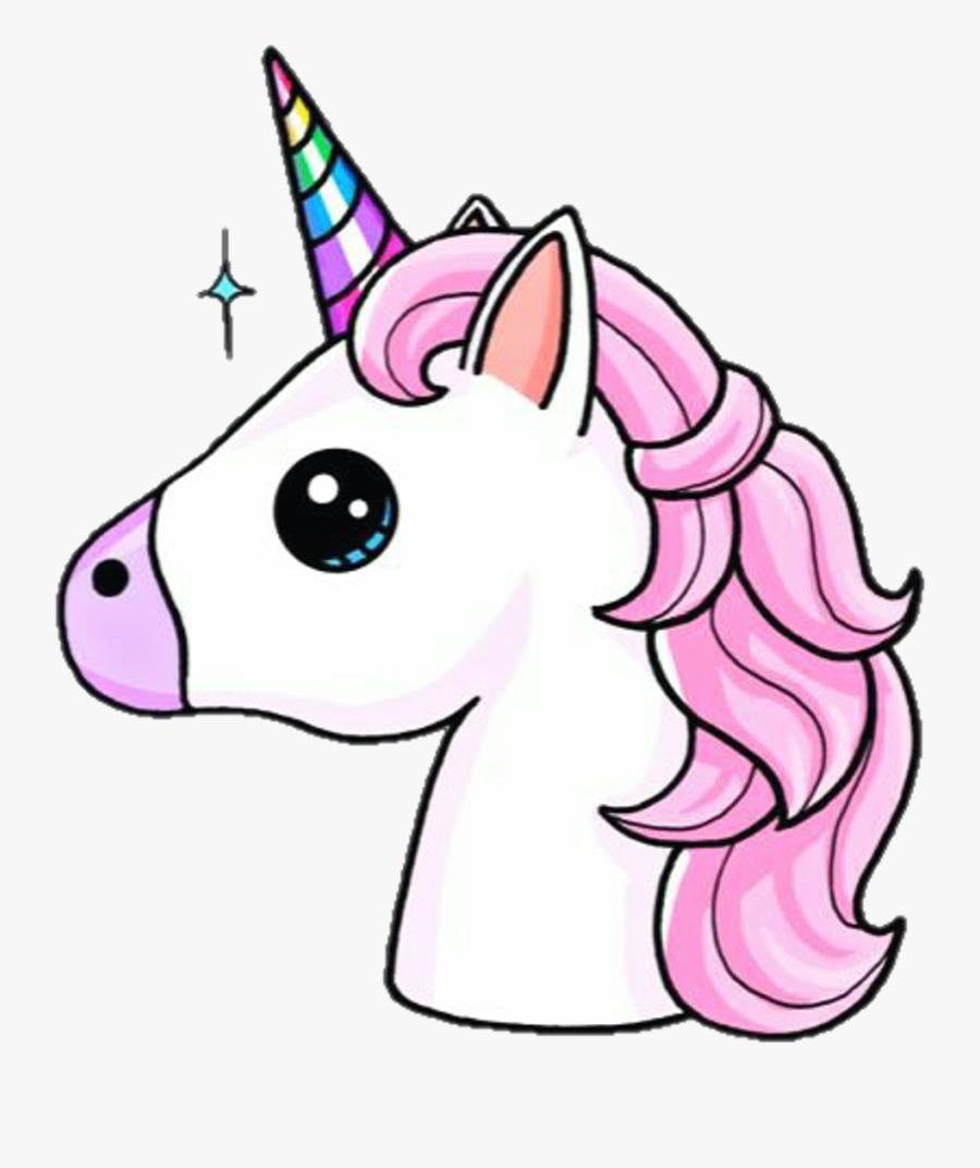 Cute Unicorn Png - Unicorn Emoji, Transparent Clipart