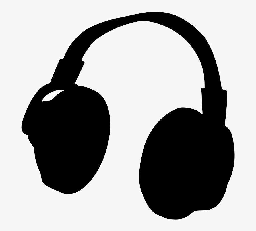 Music Clipart Headphone - Bfdi Headphones, Transparent Clipart