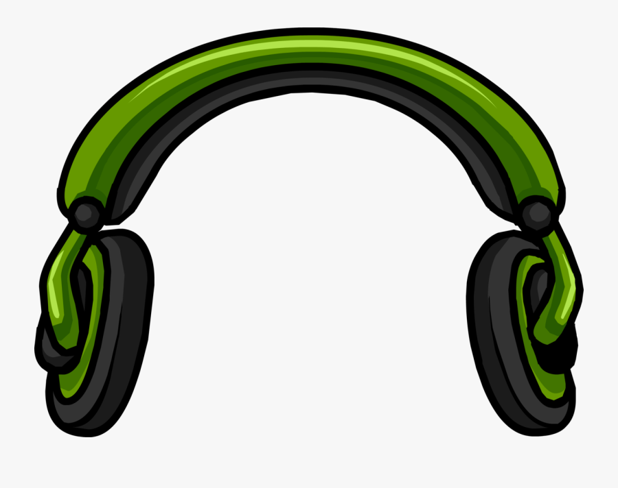 Headphone Clipart To Download - Club Penguin Headphones, Transparent Clipart