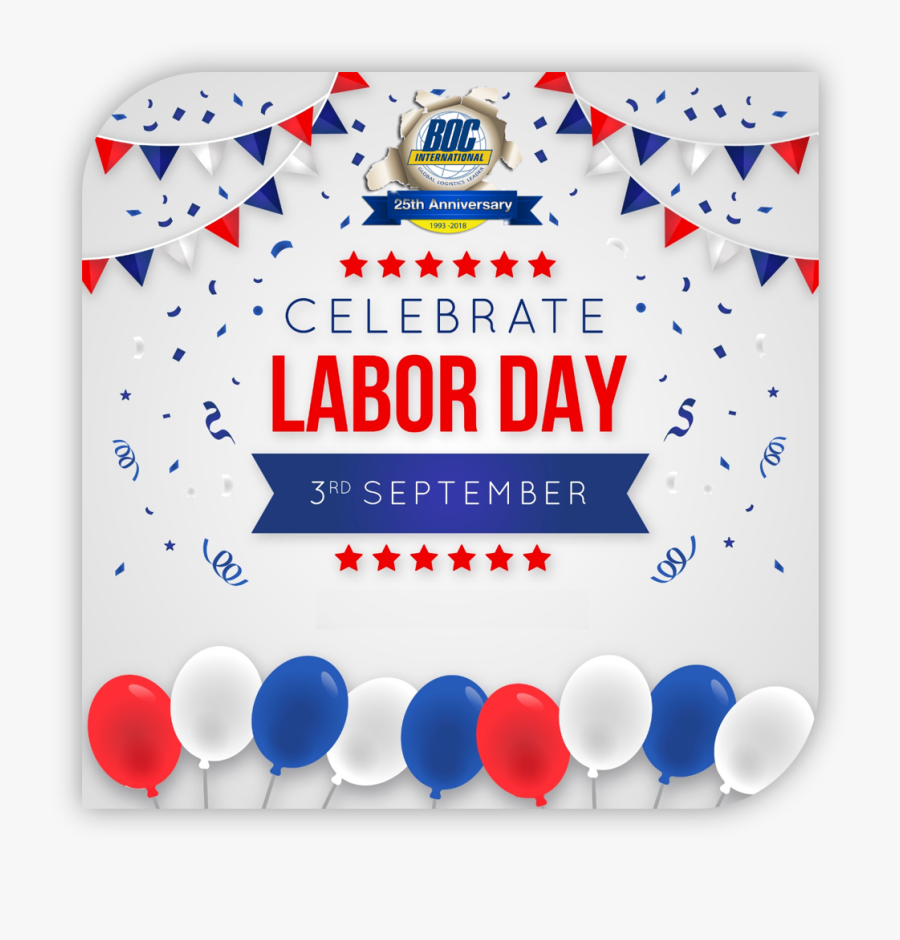 September 3 Us Holiday, Transparent Clipart
