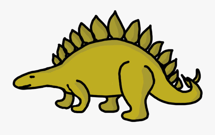 Dinosaur Bones Clipart Free - Clipart Image Of A Dinosaur, Transparent Clipart
