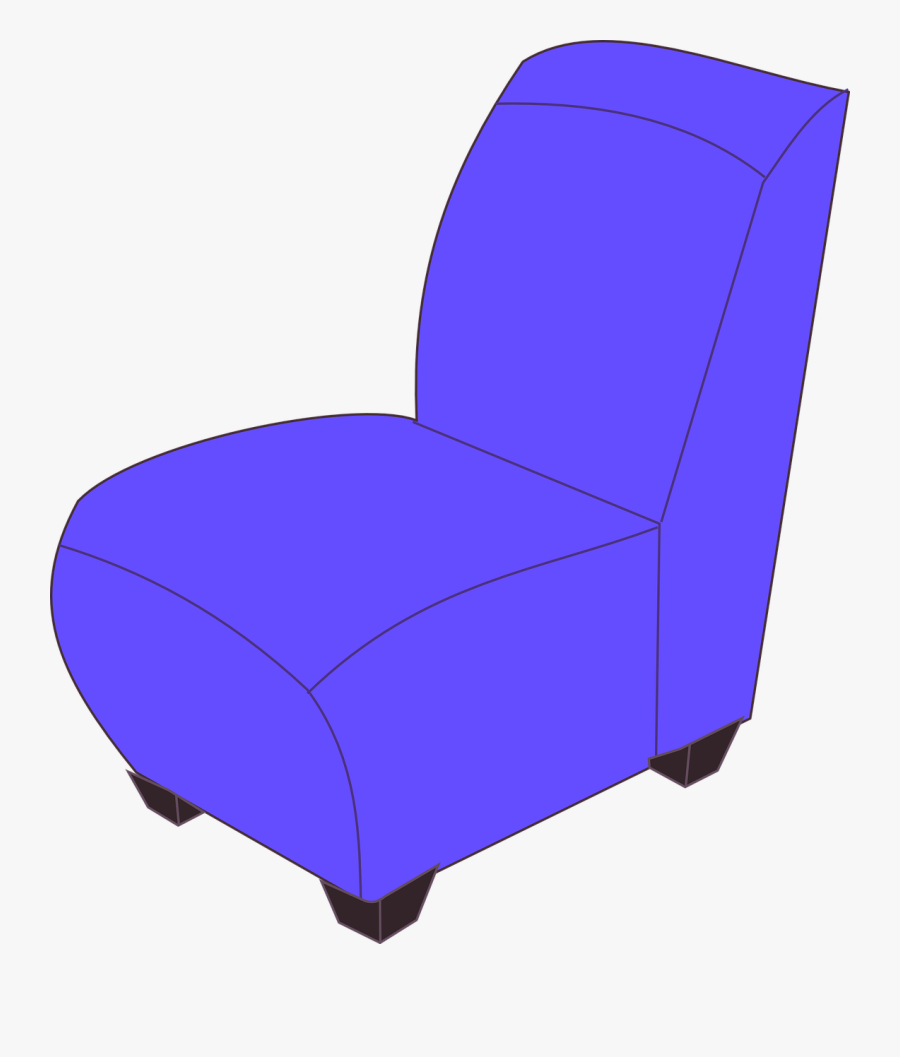 Transparent Beach Chair Clipart Black And White - Animated Chairs, Transparent Clipart