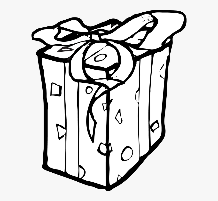 Black Gift Box Clip Art Pictures To Pin On Pinterest Birthday Present Clipart Black And White Free Transparent Clipart Clipartkey